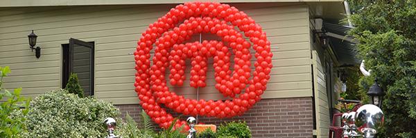 Cijfers en letters van ballonnen